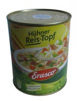 Dosensave Hühner-Reis-Topf