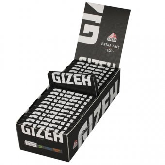 Gizeh Black Extra Fine (weiß) Regular Size, Magnet