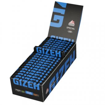 Gizeh Black Spezial (blau) Regular Size, Magnetverschluss, VE20