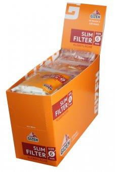 Gizeh Slim Filter 6mm Ø-120er